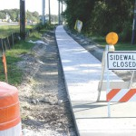 Dale Mabry roadwork comes with new sidewalks