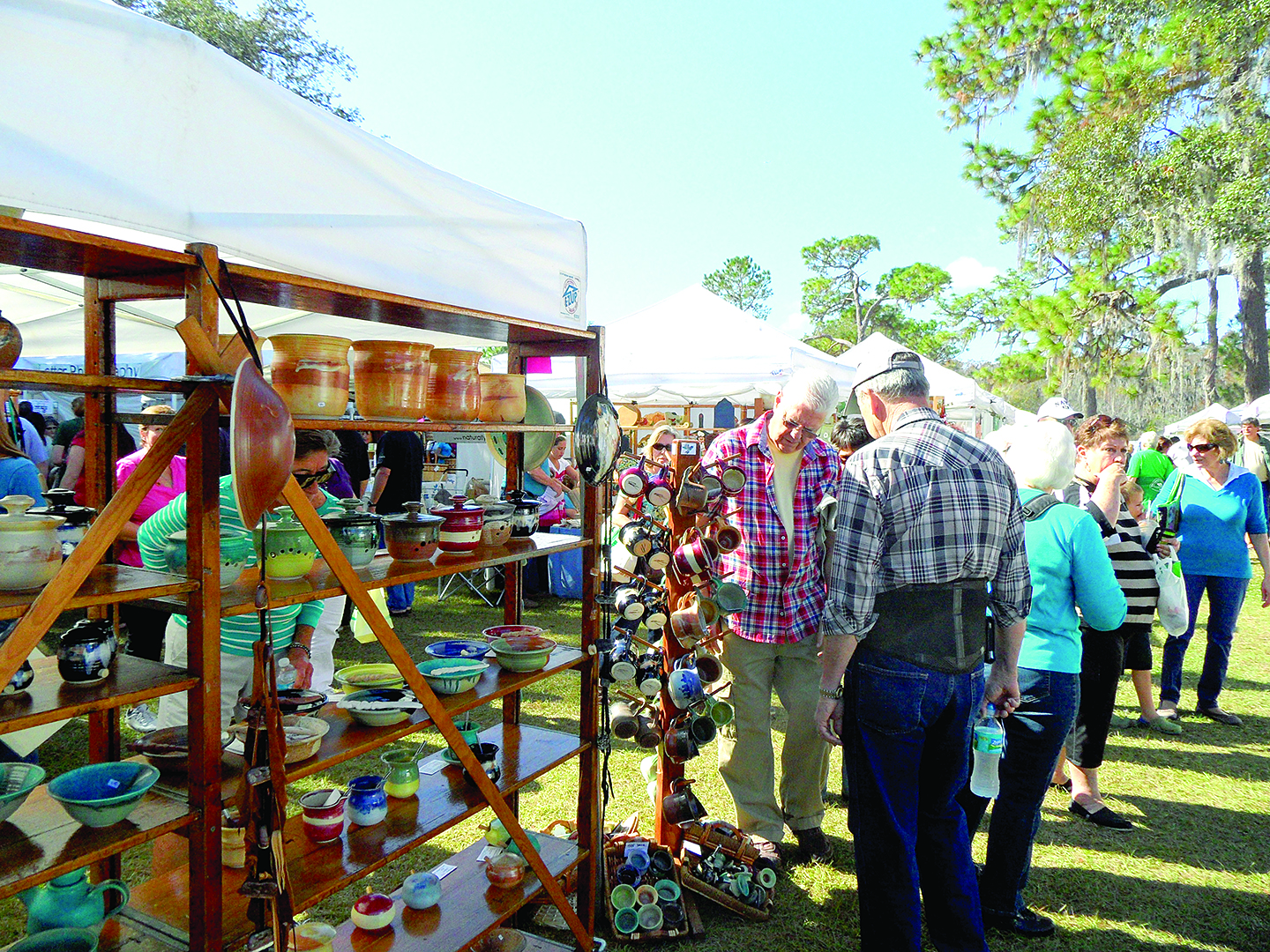 Thousands expected at arts and crafts festival at lake park for Arts and crafts festival