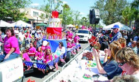 Parades have been a part of the annual Founders' Day celebration in Zephyrhills practically from the beginning. It's a chance to bring the whole community together, celebrating a vision from more than a century ago to provide a relaxing community in Central Florida. (File Photo)