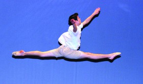 Riley Reardon won this year's $1,000 Pasco Heritage Scholarship for his contemporary dance routine. The Land O'Lakes High School senior choreographed it as well.  (Courtesy of The Heritage Arts Center Association)