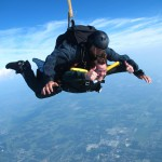 Mayor to Bush 41: Come skydive here … for free