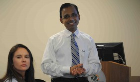 Vyas Krishnan will oversee Saint Leo University's new cybersecurity masters program, which was 18 months in the making.  (Courtesy of Saint Leo University)
