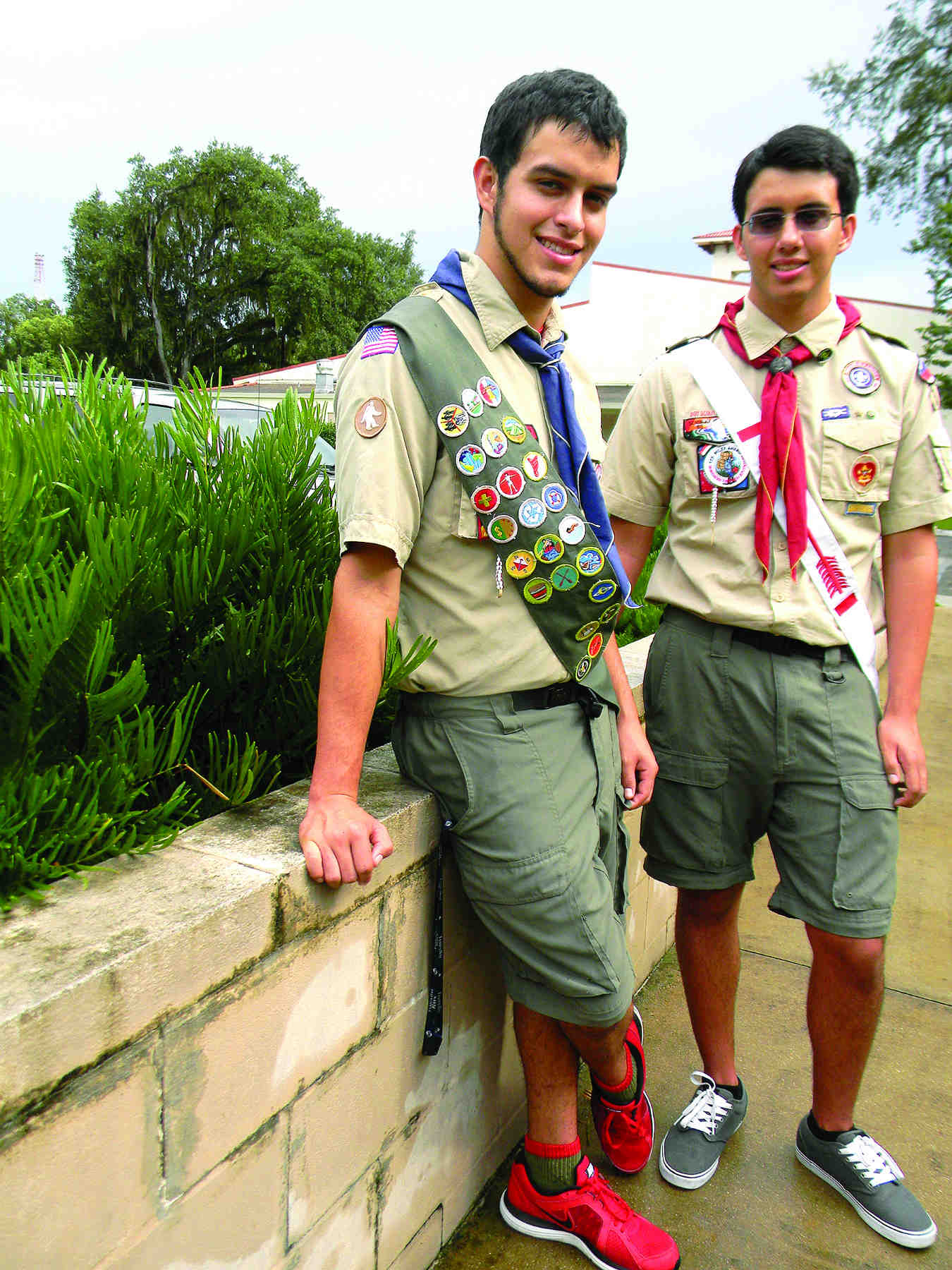 Twins set to become second generation Eagle Scouts