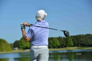 Golf courses are a favorite pastime of many older players, but have not really attracted the younger generation. For golfers like Richard Buddy of Wesley Chapel, it might be harder to find golf courses in the future. (Courtesy of Ron Ludwin)
