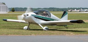 Theodore Weiss fires up his homebuilt Sonex plane not long before he disappeared from the Marion County Airport. Authorities believe they found a crash site with his plane markings and the remains of a man not far from the airport. (Courtesy of the Florida Sonex Association)