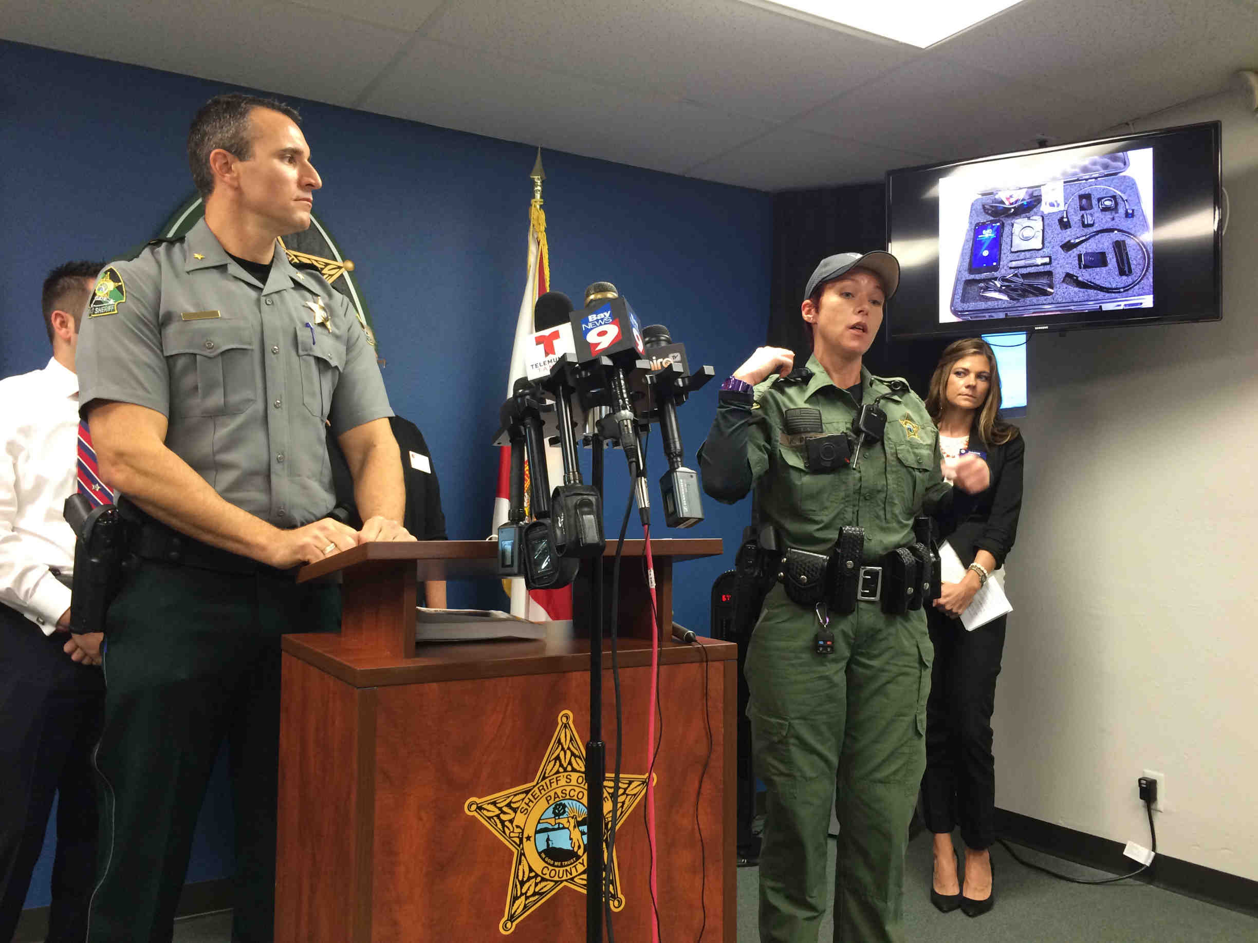 Future is here Body cameras ing to Pasco
