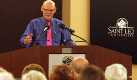 James Carville talks about the presidential contenders for 2016. (Fred Bellet/Photo)