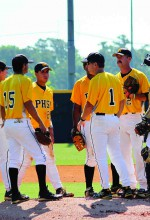 Steve Winterling, PHSC's athletic director and baseball coach, wears No. 1 on game days. He's also tops in the region after being named the National Junior College Athletic Association Division II Regional Coach of the Year. (Courtesy of Pasco-Hernando State College)