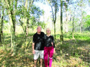 Pat and Joe Serio, who live next to the proposed Sunlake Academy, are adamantly opposed to the school, which they say would ruin the quiet enjoyment of their property. (B.C. Manion/Staff Photo)