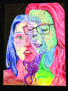 Izzie Brown, a sophomore at Land O' Lakes High School, won Best of Show with this entry in U.S. Rep. Gus Bilirakis' Congressional Art Competition. (Courtesy of U.S. Rep. Gus Bilirakis)