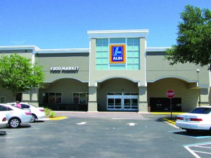 This Aldi store is in a shopping plaza off of U.S. 41 and Bearss Avenue. A new store is planned for Zephyrhills. Company officials have said they want to open 650 new stores in America by the end of 2018. (B.C. Manion/Staff Photo)