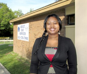 Brittany Stowers is the center manager for the CARES Adult Day Care at Northlake Community Center, 2640 N. Lakeview Drive. The center provides care for those ages 18 and older who are afflicted by Alzheimer's or dementia, or who have other special needs.