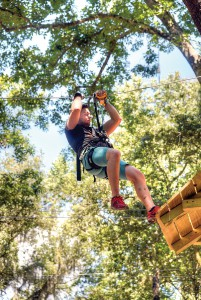 Tree Hoppers is an aerial adventure park in Dade City, giving people of all ability levels the chance to experience ziplining. (File Photo)