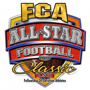 Pasco's first all-star football game will feature teams made up of seniors representing the East and West sides of the county. (Image courtesy of Bob Durham and the Fellowship of Christian Athletes)