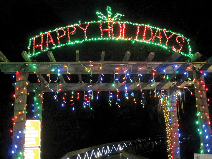 Holiday Lights In The Gardens Offers Visitors Lots Of Reasons To Enjoy The  Holidays, Including
