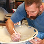 Getting up close and personal with potters