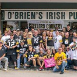 O'Brien's a destination for Steelers fans