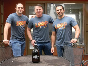 Mark Pizzurro, Joe Traina and Peter Abreut anticipate opening their craft brewery in Land O' Lakes in spring. (Kathy Steele/Staff Photos)