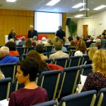 Town hall covers myriad topics