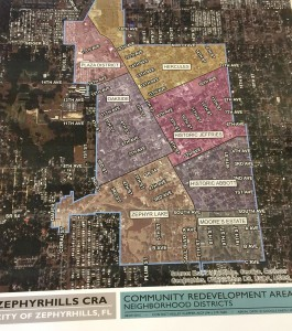 The Zephyrhills CRA (Community Redevelopment Agency) oversees a 520-acre defined district that essentially encompasses the center spine of the city, generally between Hercules Park to C Avenue, and from Zephyr Park to 17th Street.