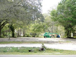 A dirt lot is all that is left of Hot Rods Country BBQ. The restaurant was torn down to make way for a new restaurant from owners Sunset Livingston LLC.