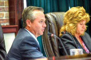 Pasco County Commissioner Mike Moore questioned whether a county ordinance to create wildlife corridors did enough to protect property owners' rights. (Photos courtesy of Richard K. Riley)