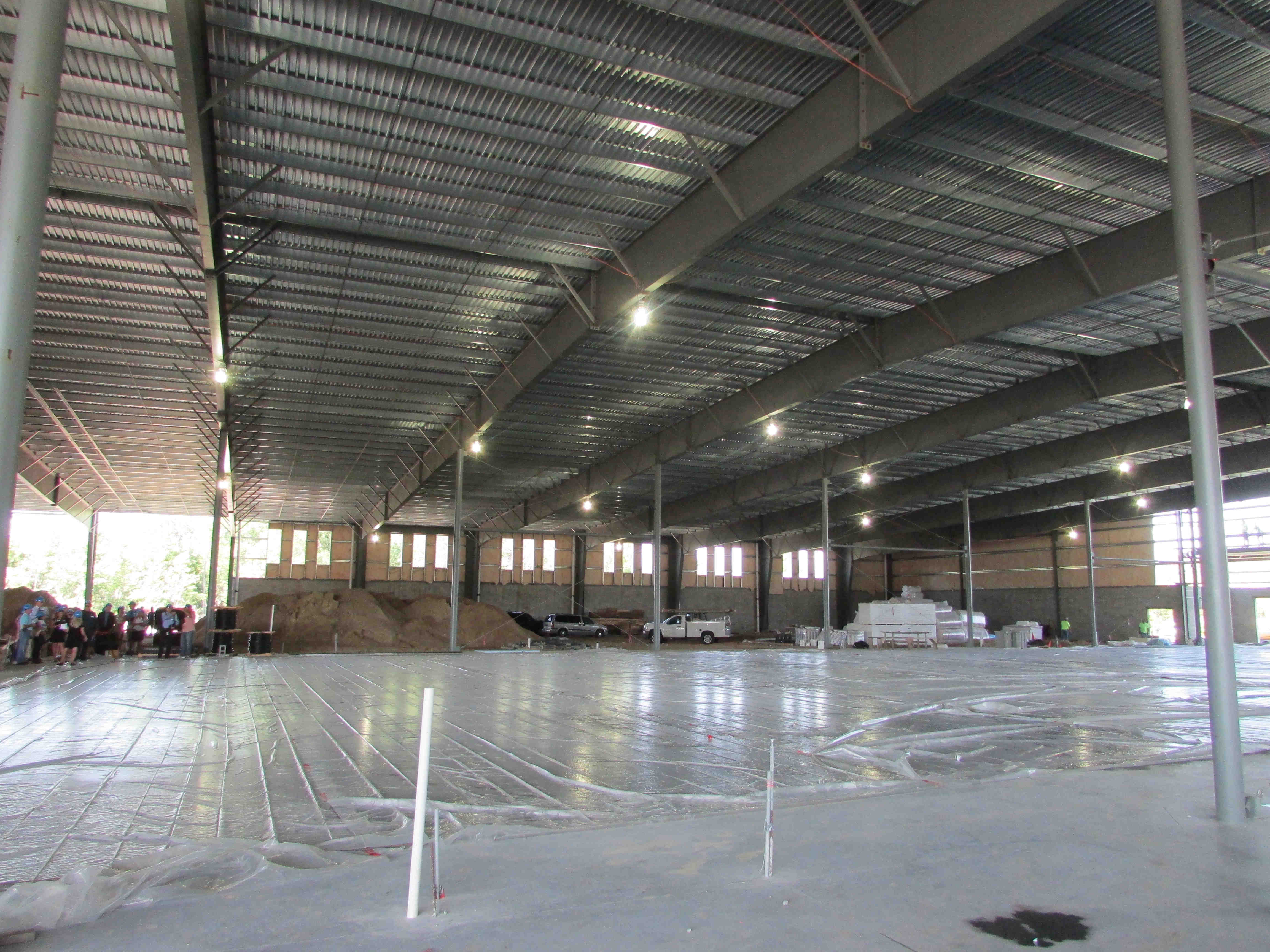 center ice to open in october