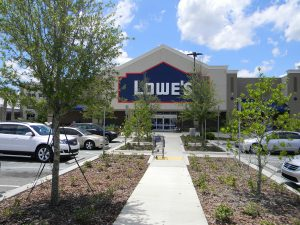 Lowe's home improvement store on State Road 54 is valued at about $18 million by Pasco County Property Appraiser's office, and helped boost overall county property values. (File Photos)