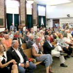 Various issues surface during town hall meeting