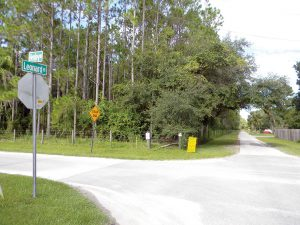Homes by WestBay wants to build 320 homes on land off Henley Road. A dead-end section of Leonard Road would be extended into the proposed housing development. (Kathy Steele/Staff Photo)