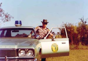 Barry White also worked as a state wildlife officer from 1977-1979.