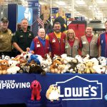 Lowe's collects teddy bears for a good cause