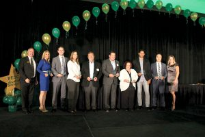 Those pictured here represent the companies which won awards during the 30th annual Banquet and Industry of the Year Awards presented by the Pasco Economic Development Council.