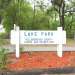 Lake Park reopens; sinkhole remains