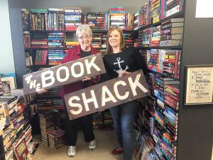 Joanne Kassebaum, left, is handing off The Book Shack's legacy to Kristy Kassebaum, her granddaughter-in-law. The bookstore opened 37 years ago in Dade City. (Courtesy of The Book Shack)
