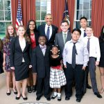 Land O' Lakes student visits White House, talks science