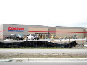 Construction Is In The Final Stages On Costco Wholesale Warehouse Front Of Tampa Premium Outlets Off State Road 56 Kathy Steele Staff Photo