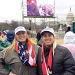 Local residents attend Donald J. Trump's inauguration