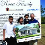 Army vet gets big surprise: A mortgage-free home