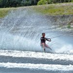 Local youth barefoot water-skier wins national title