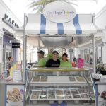 This kiosk offers a dough-licious new treat