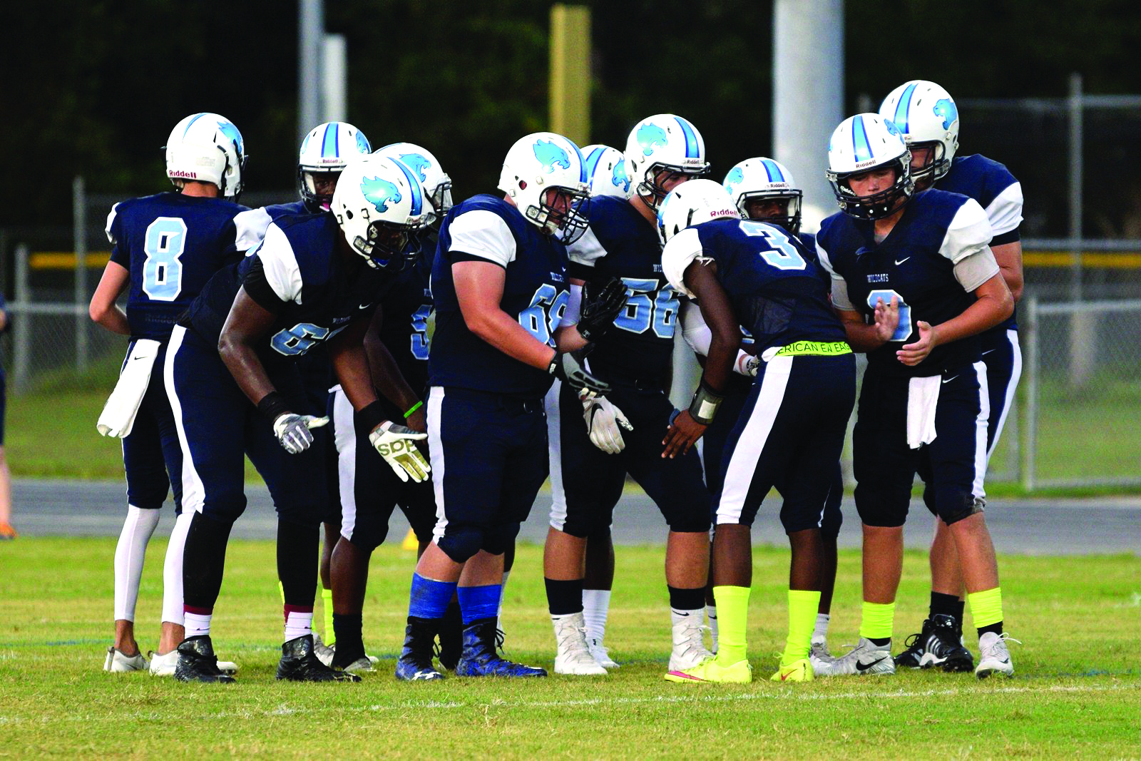 Wesley Chapel Returns Several Key Pieces From Last Season S 7 2 Squad Courtesy Of Tom Ketchum Pascocountyfb High School Wildcats
