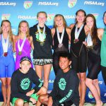Local high schools shine at state swim meets