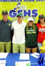 Steinbrenner athletes sign letters of intent
