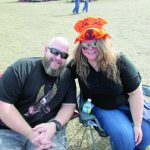 Festival-goers enjoy heaping helpings of barbecue and blues