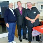 The 'legend of voices' visits Grand Horizons