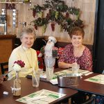 Residents mingle for an afternoon of fun