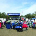 Thousands turn out for barbecue and blues