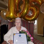 105 years young…