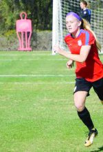 Local soccer player scores prestigious statewide honor